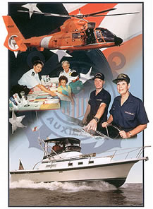 Coast Guard Aux Collage